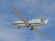 Global Hawk no. 871 recently completed its first flight as a NASA aircraft.