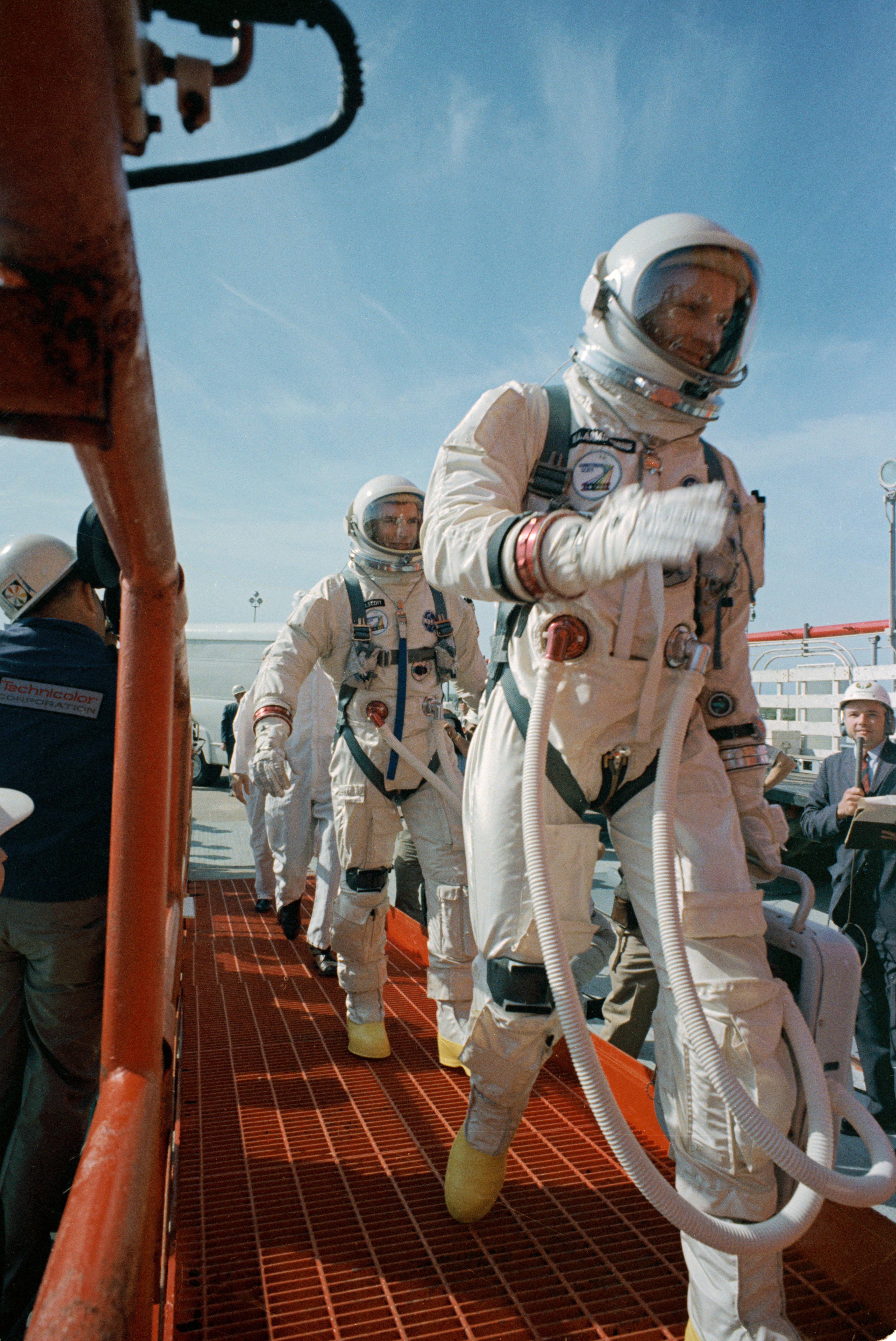 Boarding Gemini VIII | NASA