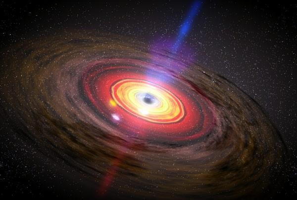 Image result for Astronomers Just Detected Matter Falling Into A Black Hole At 1/3 The Speed Of Light