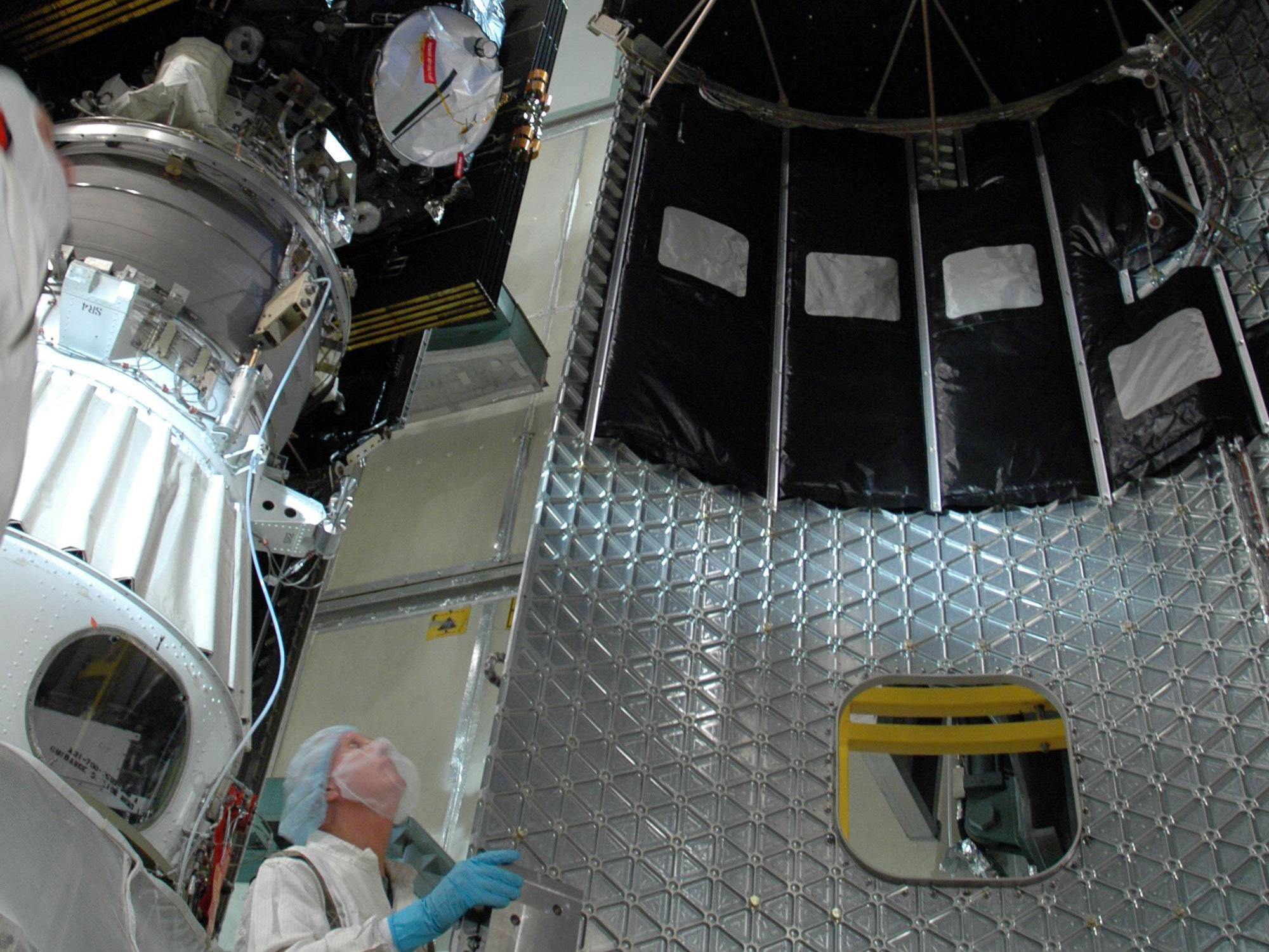 Parts - Dawn Spacecraft Fairing   NASA