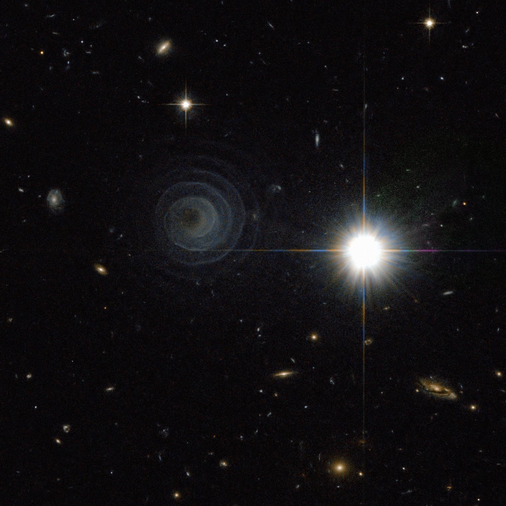 NASA Can't Explain Strange Spiral in Space