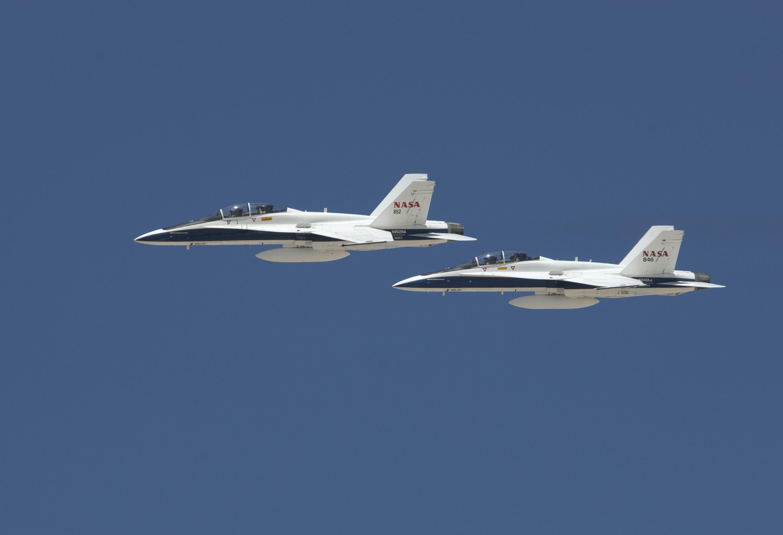 NASA Armstrong Fact Sheet: F/A-18 Mission Support Aircraft   NASA