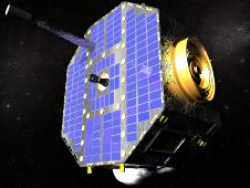 Artist rendition of IBEX spacecraft.