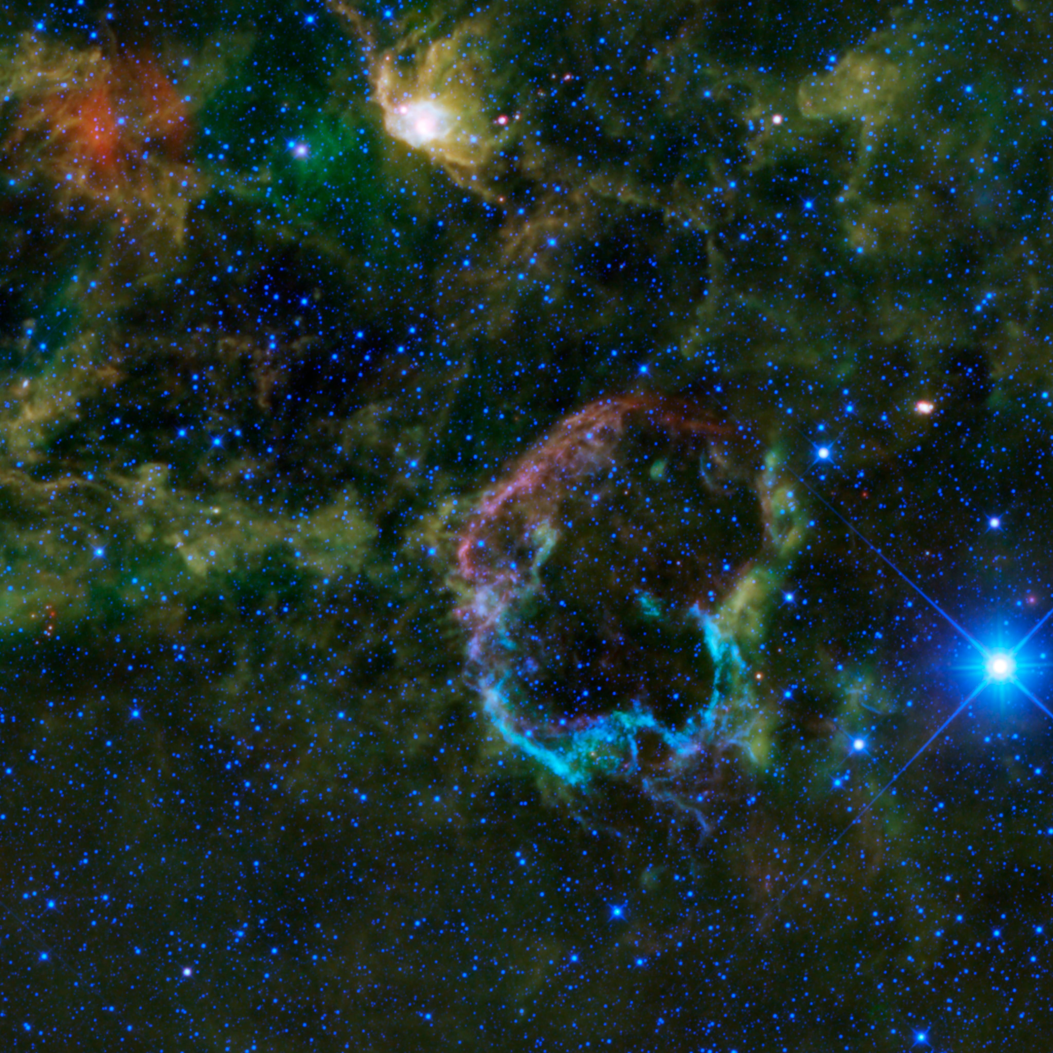 An Explosion of Infrared Color | NASA