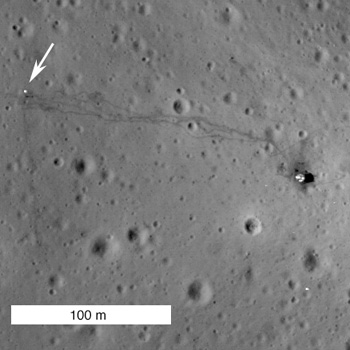 NAC image of the Apollo 14 landing site