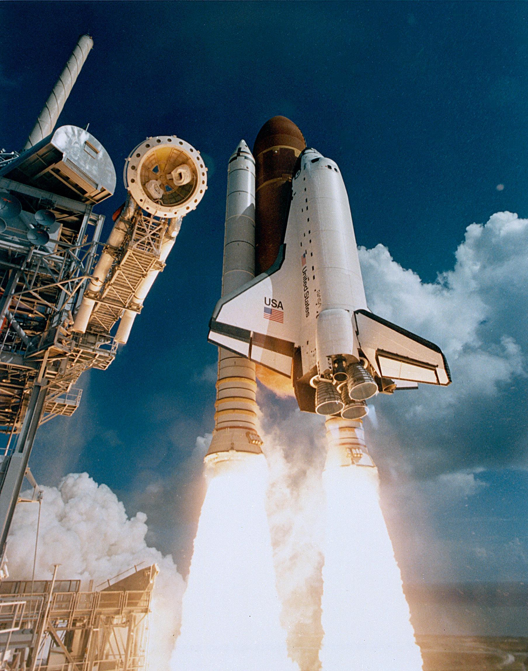how many space shuttle missions were launched - photo #29