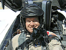 NASA pilot Dana Purifoy