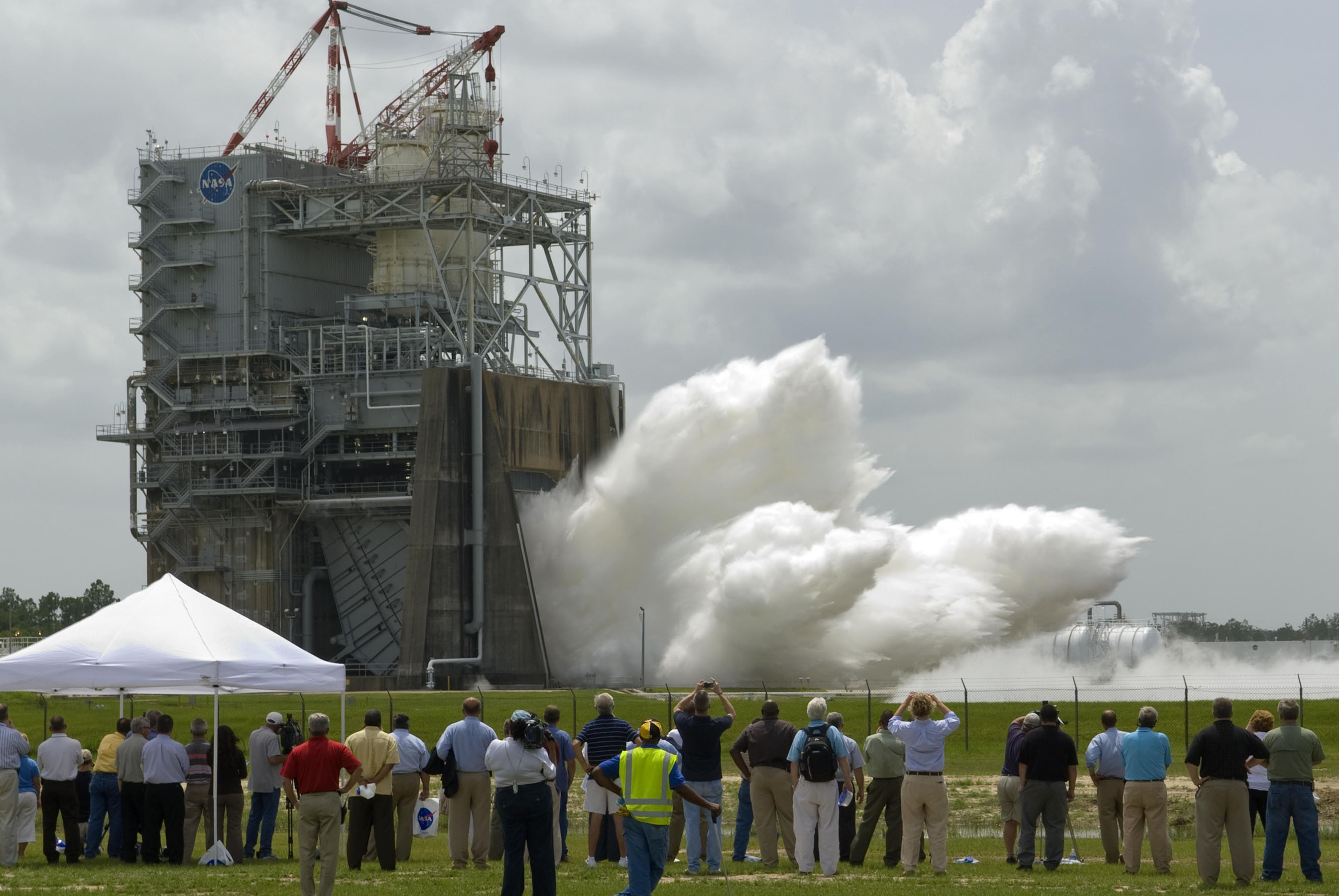 John C Stennis Space Center : Nasa test stand passes review for next generation rocket