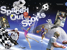 Spaced Out Sports Image