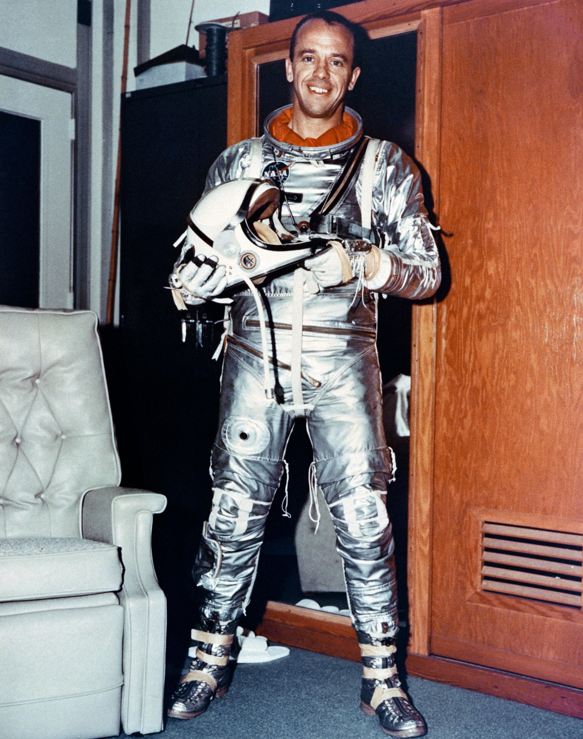 who was first american astronaut in space - photo #17