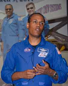 STS-133 mission specialist Alvin Drew