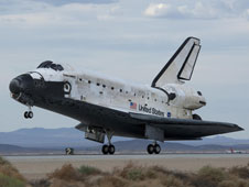 Discovery previously landed in California Sept. 11, 2009, after mission STS-128 to the International Space Station.