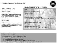 First page of Build a Solar Oven