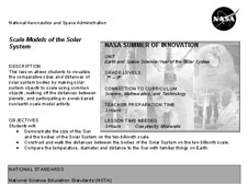 First page of Scale Models of the Solar Systems