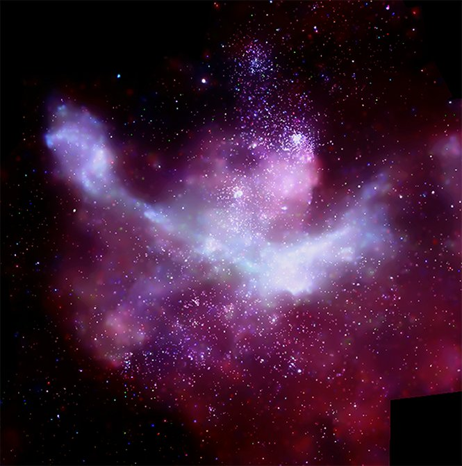 Carina Nebula, a star forming region in the Sagittarius Carina arm of the Milky Way