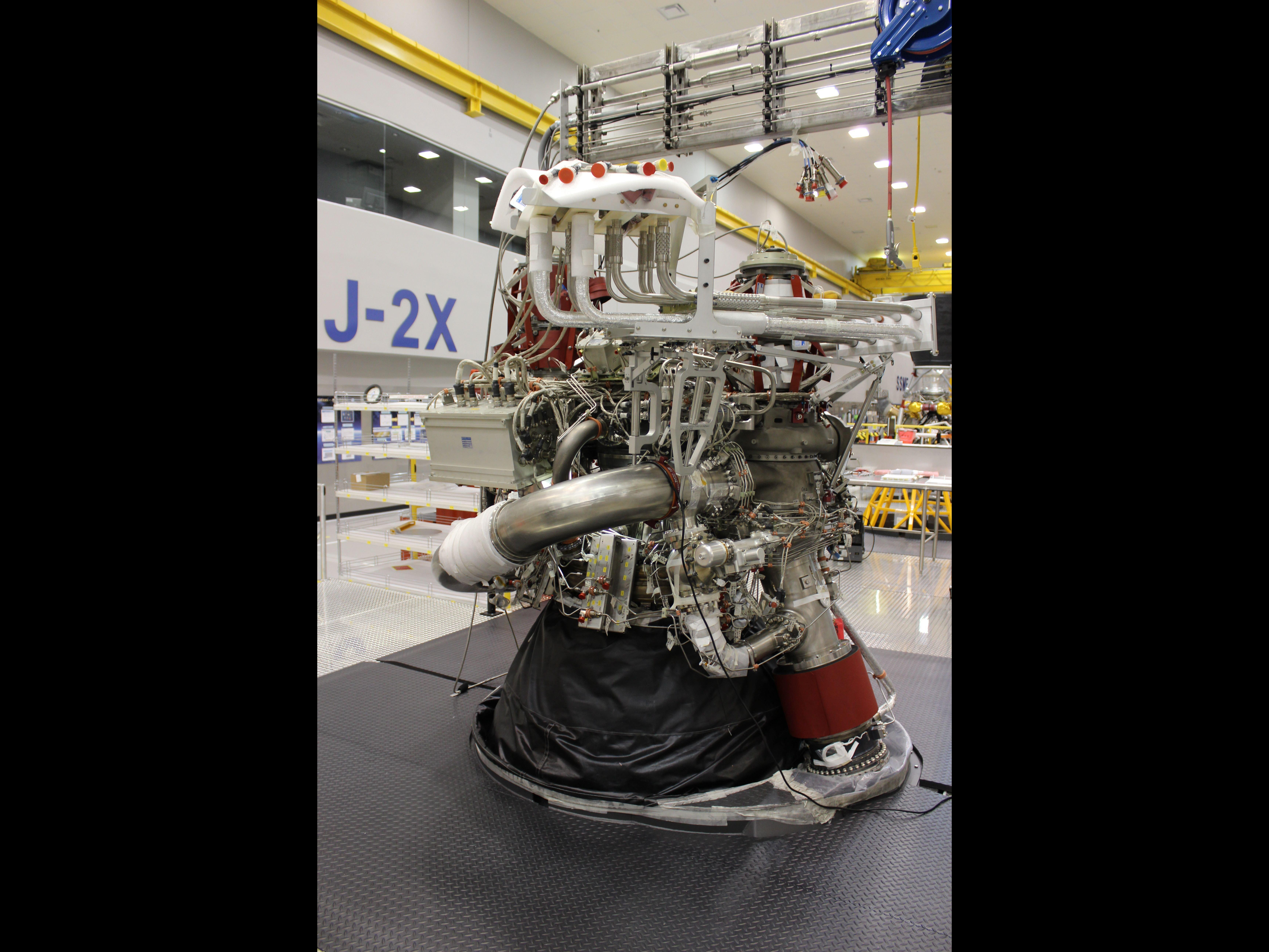 J-2X Rocket Engine Nears Completion | NASA