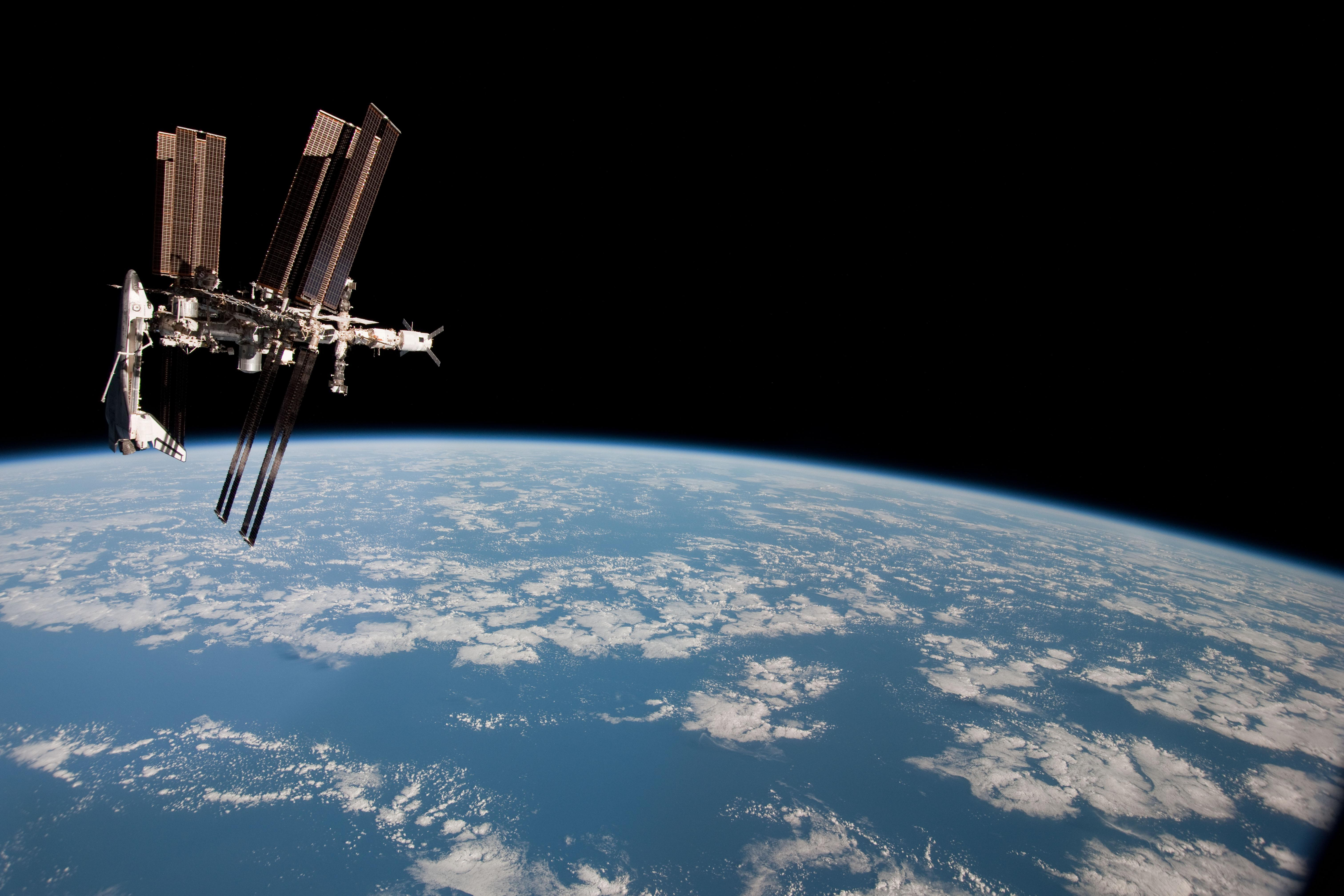 photos of the space station seen from the ground as - photo #26