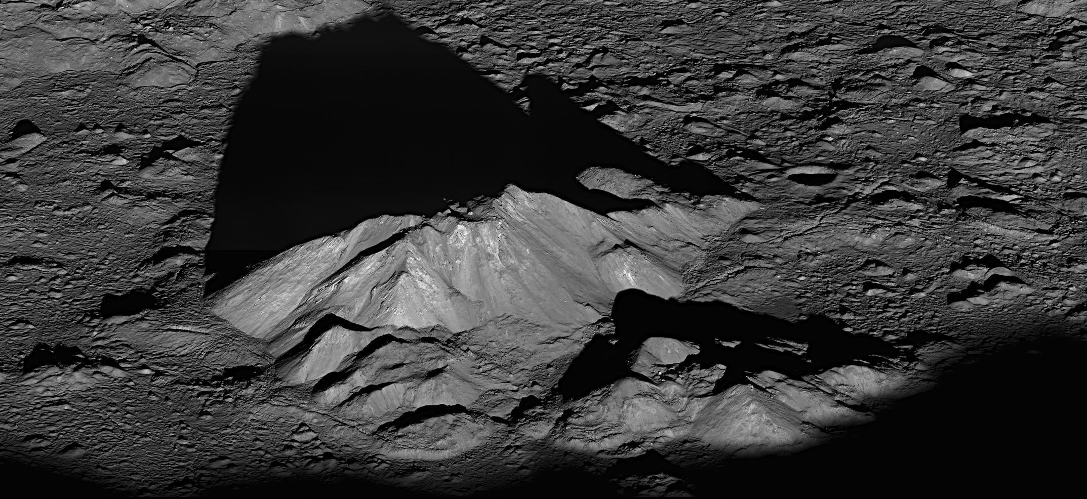 Sunrise on the Moon  NASA