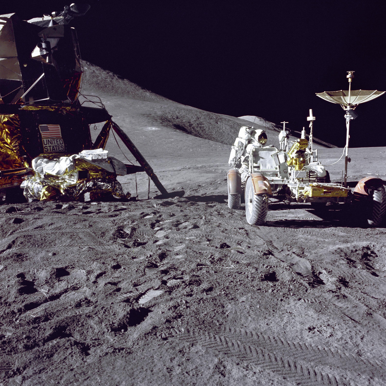 Apollo 15 Lunar Module and Rover | NASA