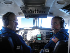 UC-12 Flight crew, Rick Yasky (left) and Mike Wusk (right)