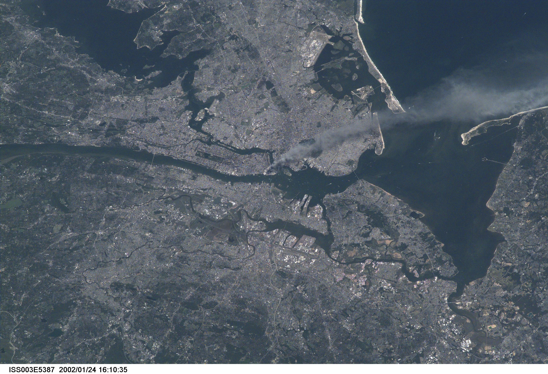 9/11 space photos iss nasa september 11, 2001