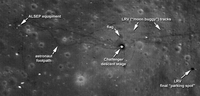 New Images Offer Sharper View of Apollo Sites | NASA