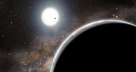 Kepler-19c, credit: David A. Aguilar (CfA)
