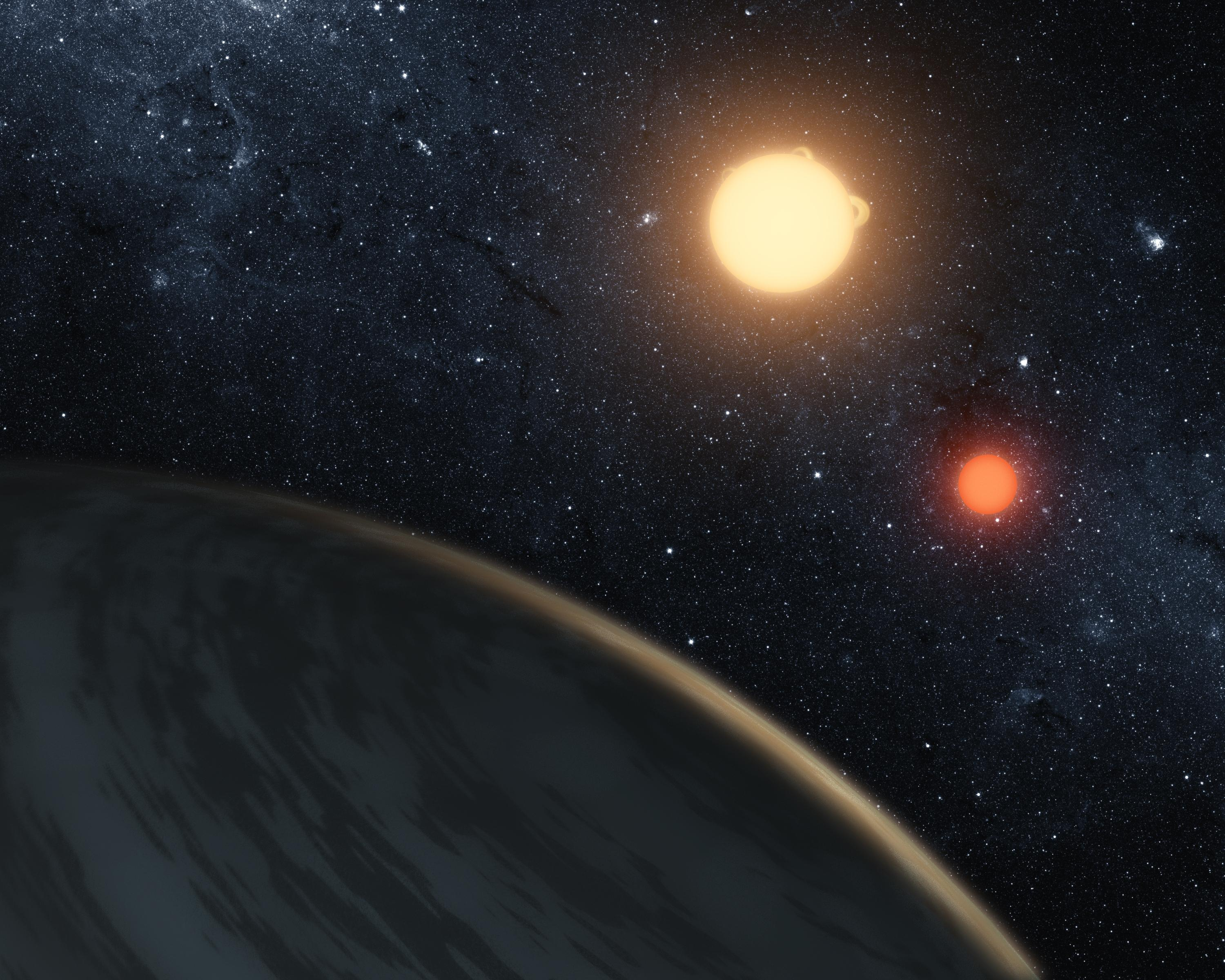 New Planet Is Largest Discovered That Orbits Two Suns | NASA