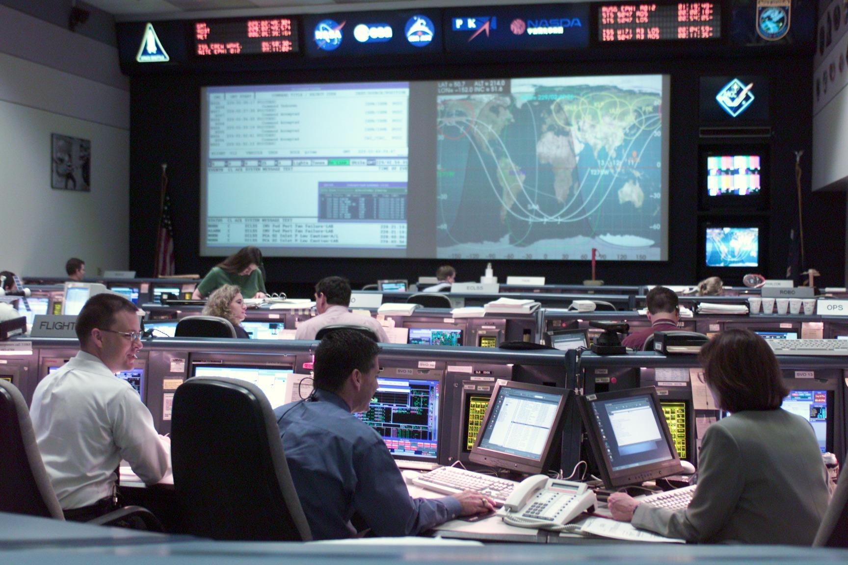 Space Station Flight Control Room | NASA