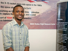 Travis Whitlow - North Carolina A&T engineering student interns at NASA field center during summer