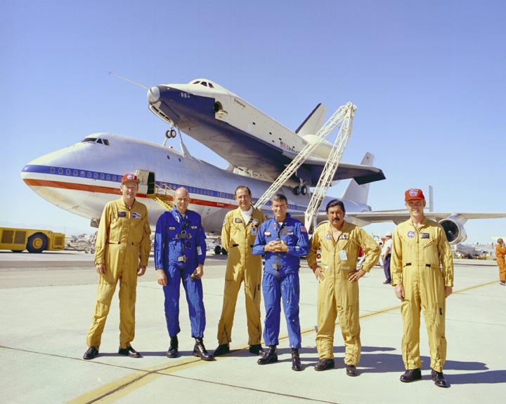 space shuttle enterprise landing - photo #28