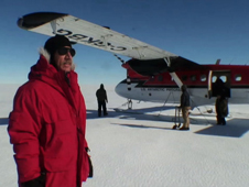 Robert Bindschadler, an emeritus glaciologist with NASA Goddard Space Flight Center, was the first person to ever walk on the Pine Island Glacier ice shelf, in January 2008.