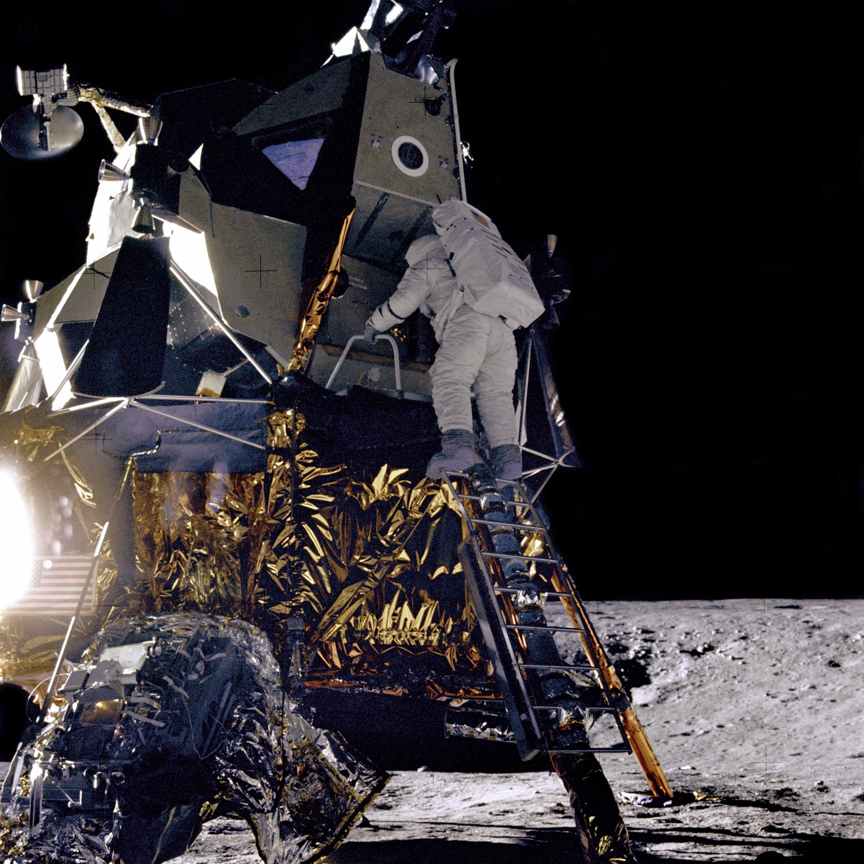 Alan Bean Descends Intrepid | NASA
