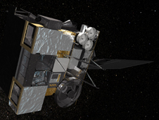 artist concept of GOES-15, formerly known as GOES-P