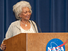 Actress Nichelle Nichols, who portrayed Lt. Uhura in the original Star Trek TV series, recaps her career in acting.