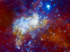 NASA's Chandra Finds Milky Way's Black Hole Grazing on ...