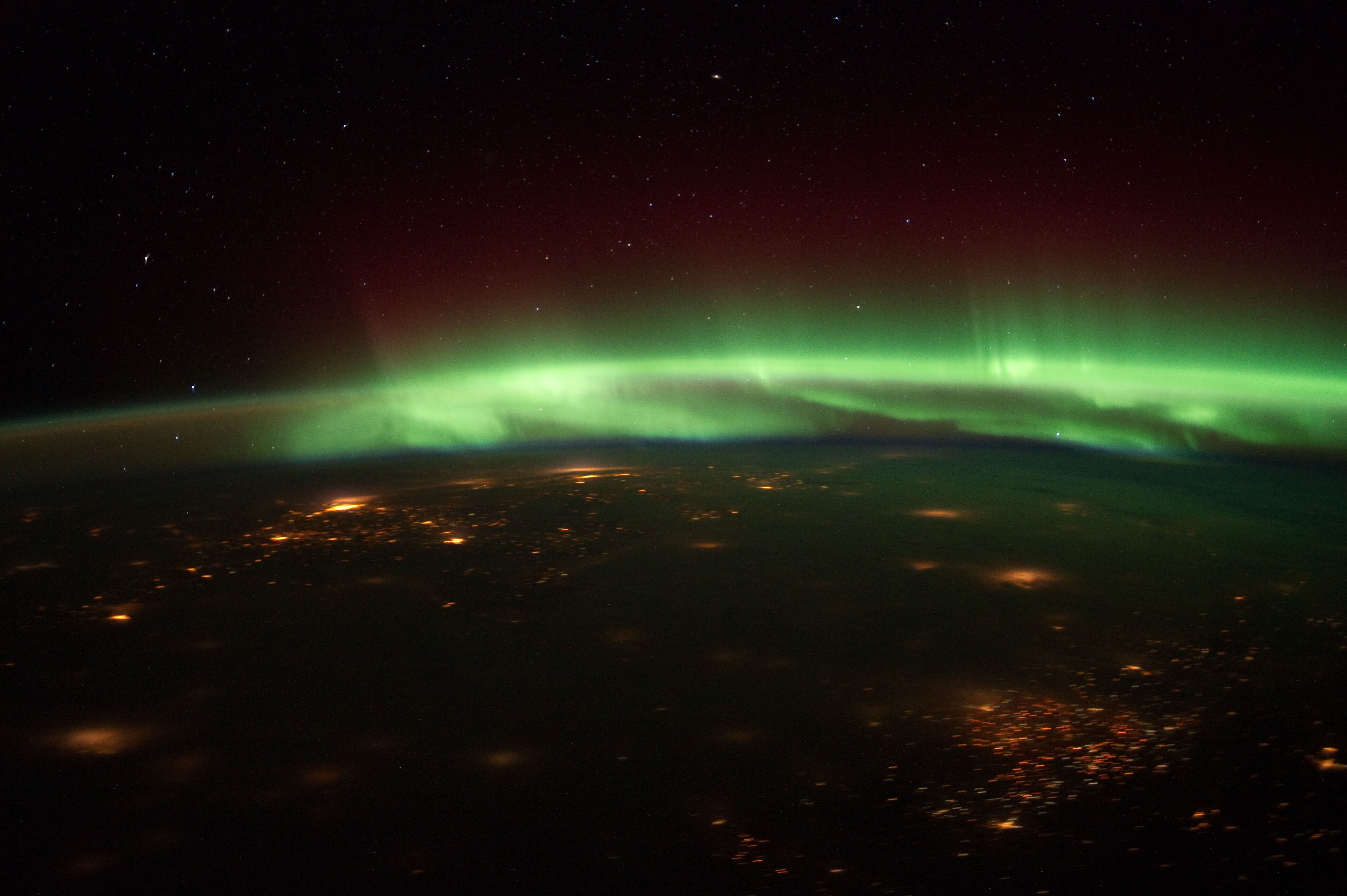 pictures from space Aurora s