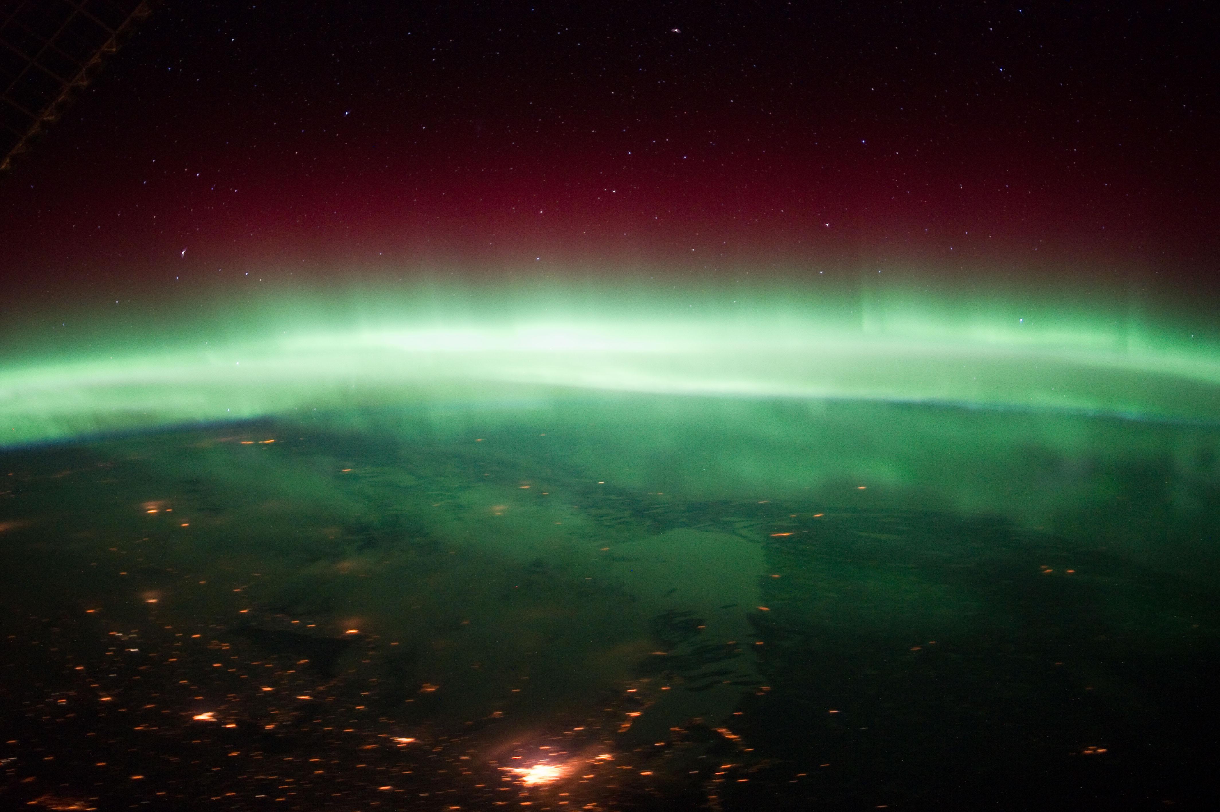 Aurora Borealis Above Canada | NASA
