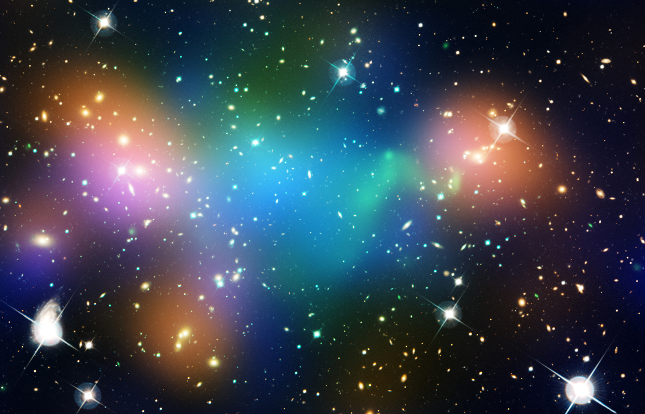 Merging Galaxy Cluster Abell 520 | NASA