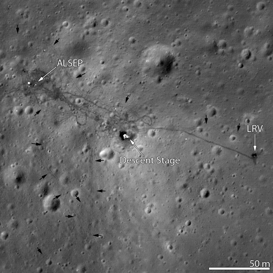 lunar landing sites visible from earth - photo #1