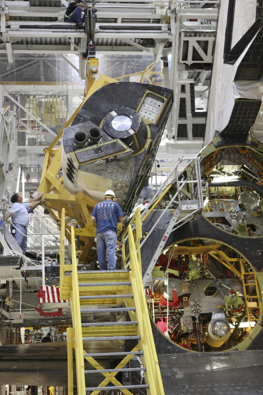Endeavour's OMS Pod | NASA