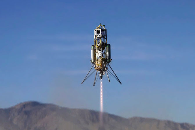 Masten Space Systems' Xombie rocket with Draper Laboratory's GENIE flight control system has its first untethered flight from the Mojave Air and Space Port.