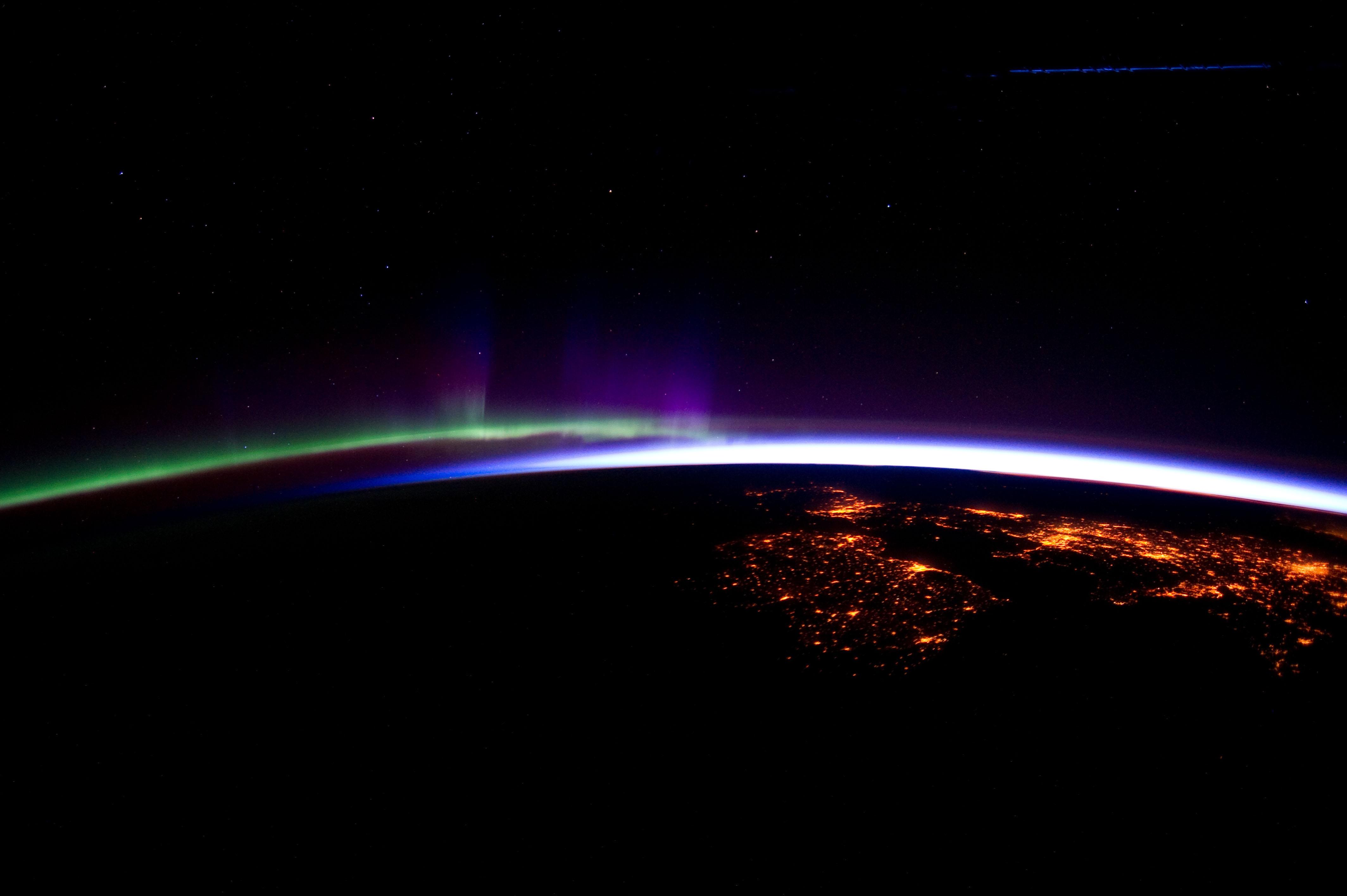 Horizon Over The North Atlantic