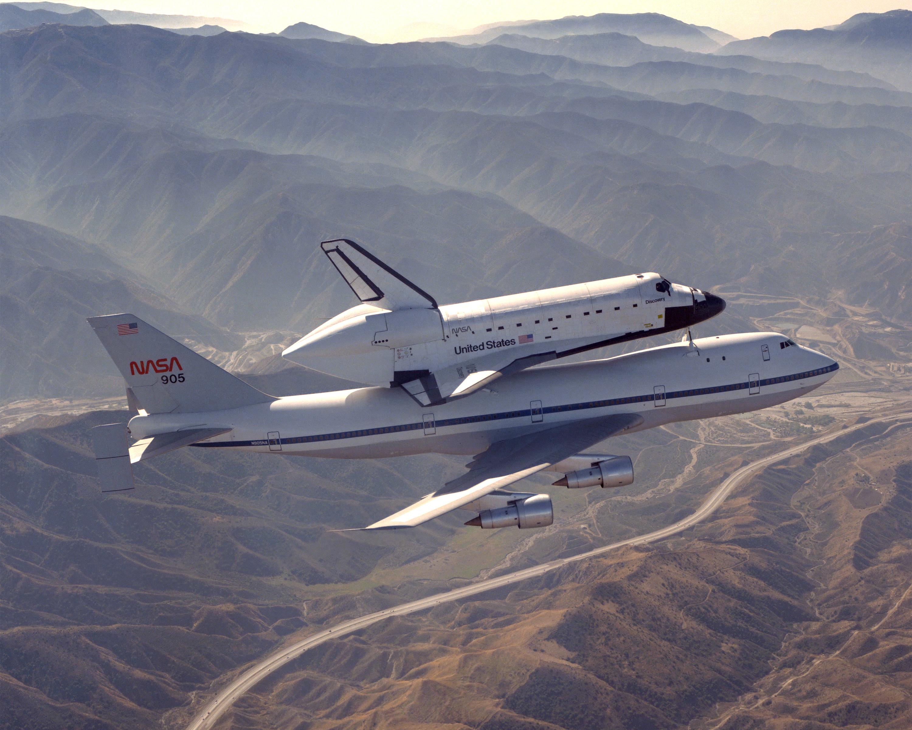 kelly afb space shuttle carrier aircraft - photo #38