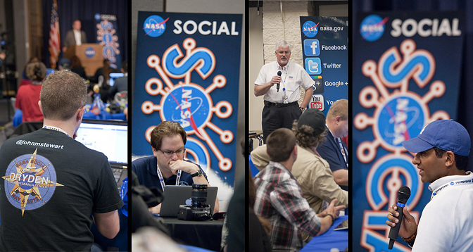 NASA Dryden Social Group session