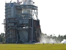 NASA conducted a long duration test of the J-2X powerpack, 340 seconds total, at the Stennis Space Center in southern Mississippi on May 10, marking another step in SLS development, the next-generation rocket that will carry humans deeper into space than ever before.