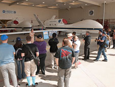 Social media learned about the Global Hawks during the NASA Social.