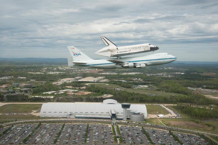 NASA 747 SCA Delivers History | NASA