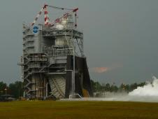 J 2X powerpack test at Stennis Space Center on June 8, 2012.