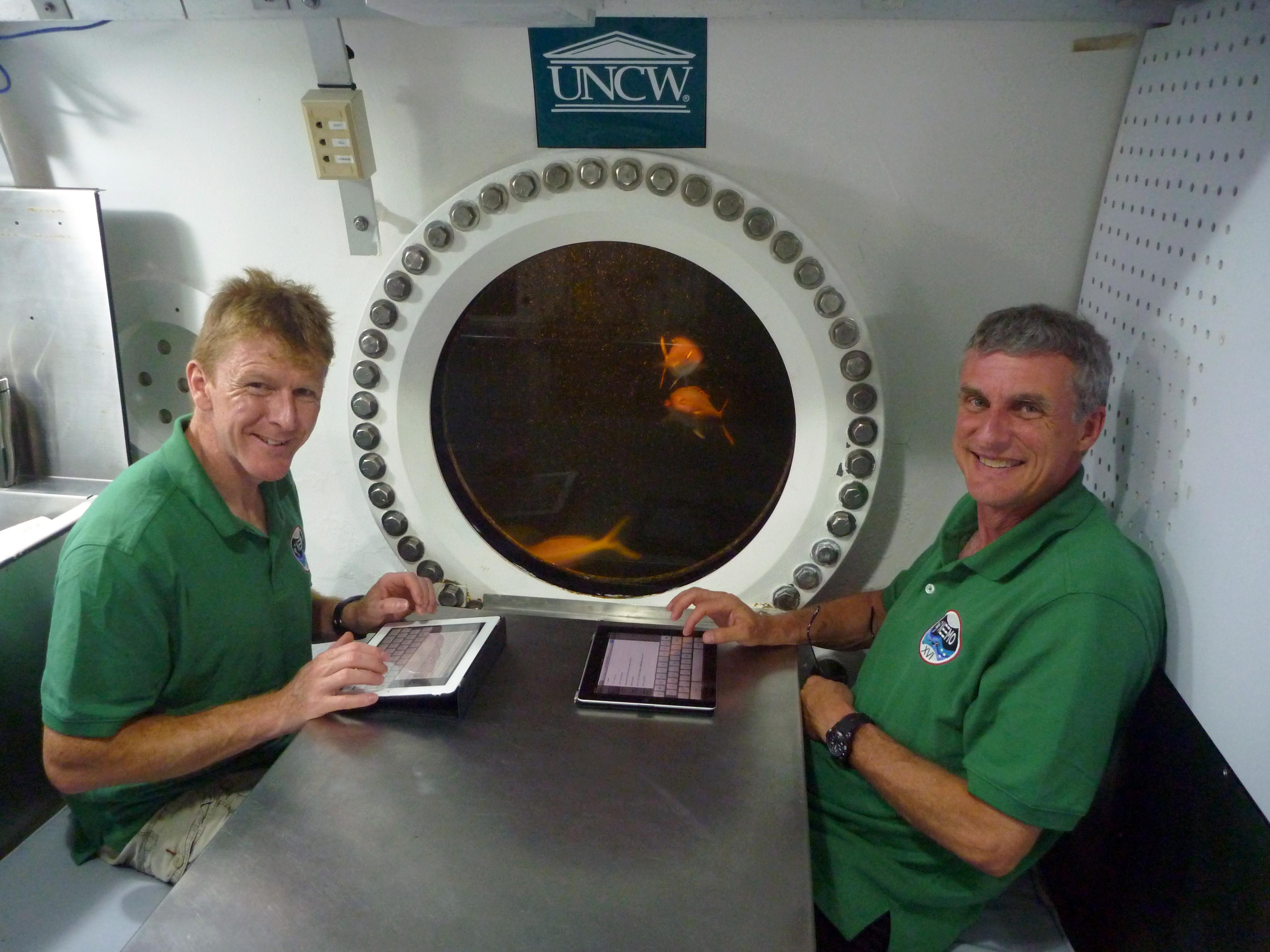 Inside the Aquarius Undersea Laboratory   NASA